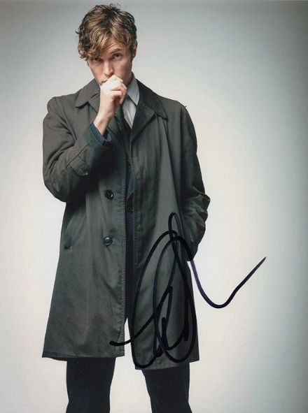 Tom Hughes, English actor, signed 8x6 inch photo.